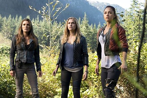 The 100 -Abby, Clarke e Raven