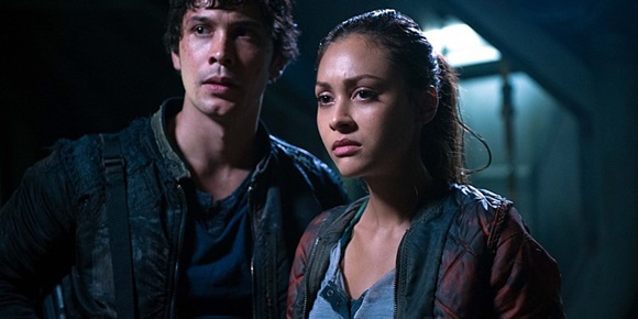 The 100 - Bellamy e Raven