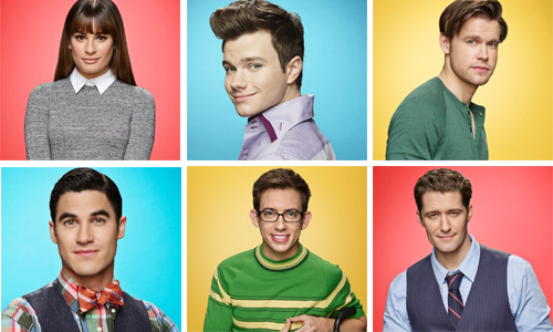 Glee-6-temporada-Rachel-Blaine-Kurt-Artie-Sam-Schuester