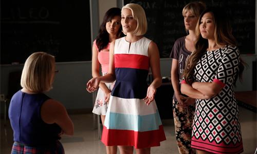 Glee-6x03-Becky-Quinn-Santana-Brittany-Tina