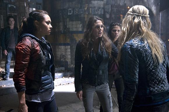 The 100 - Raven, Abby e Clarke