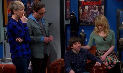 The-Big-Bang-Theory-8x15-Howard-Bernadette-Penny-Leonard