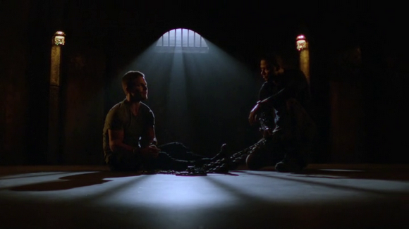 arrow 315 - diggle and oliver