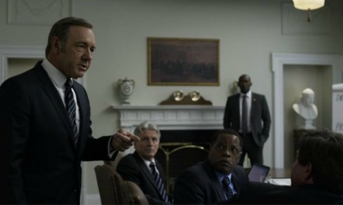 Frank - House of Cards - 3x01
