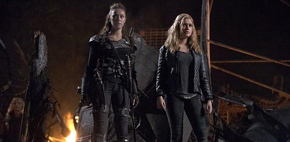 The 100 - Lexa e Clarke