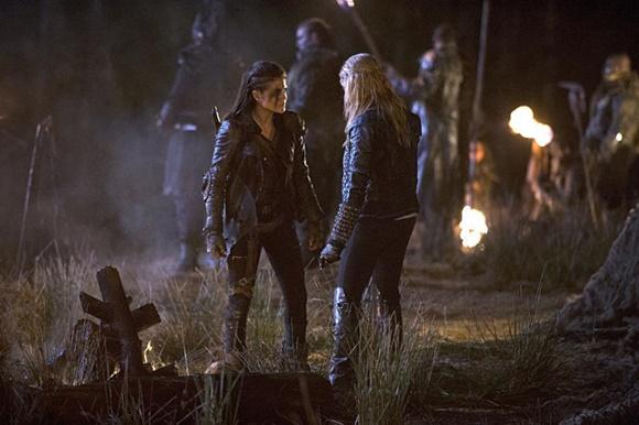 The 100 - Octavia e Clarke