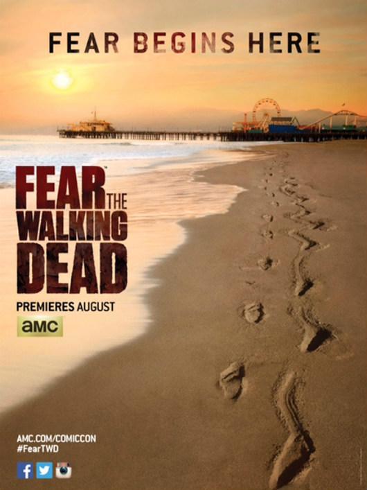 Poster de Fear The Walking Dead