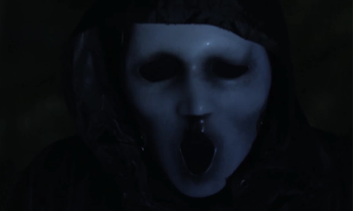 scream mask mtv