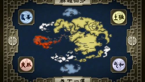 Avatar - nações