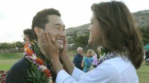 Benção havaiana no começo das gravações de Hawaii Five0