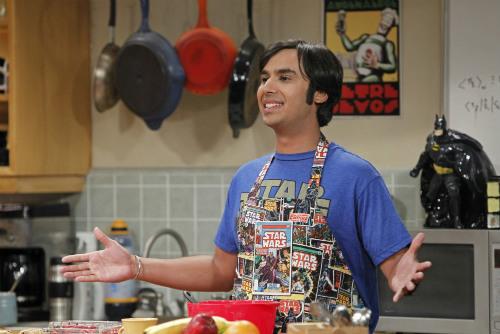 Raj, de The Big Bang Theory