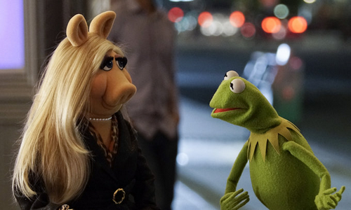 Miss Piggy e Kermit