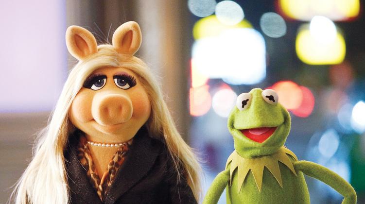 Piggy e Kermit