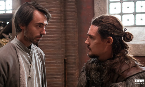Alfred e Uhtred em Wessex - The Last Kingdom