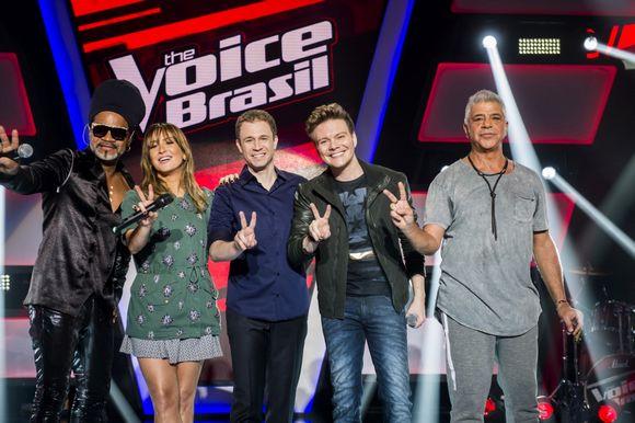 Equipe The Voice BR - Quarta Temporada